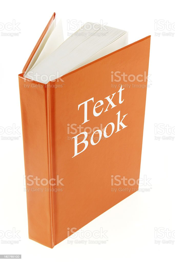 Text Book royalty-free stock photo