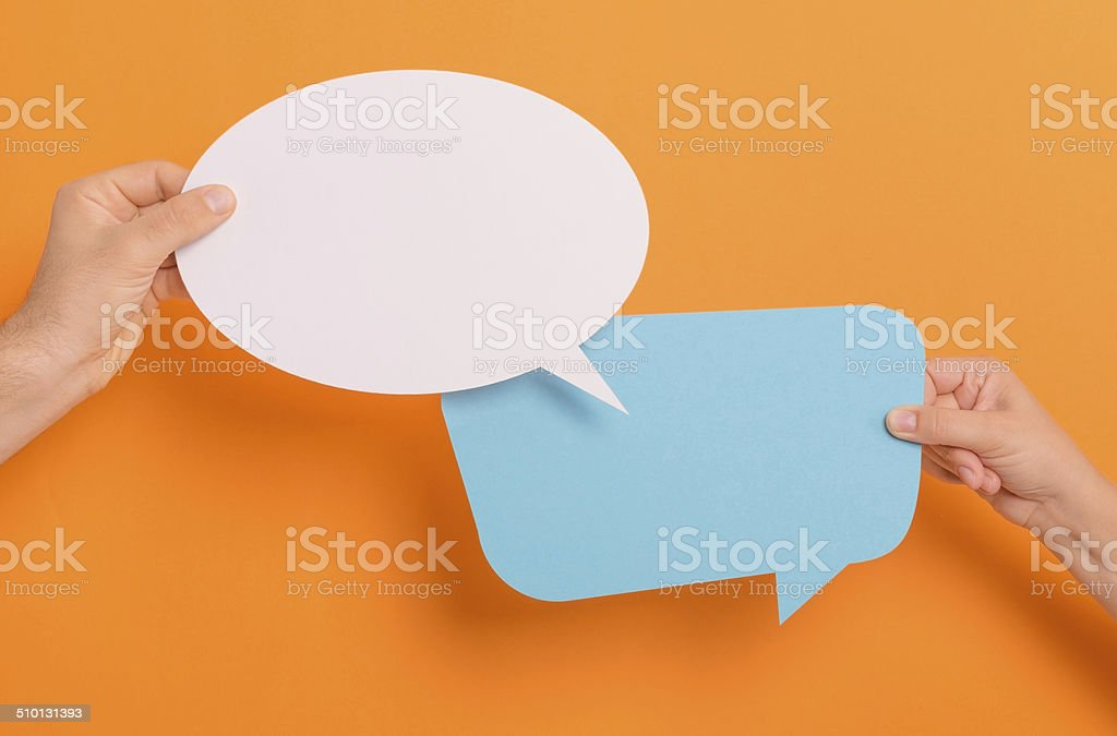 Text Bubbles stock photo