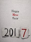 text happy new year 2017