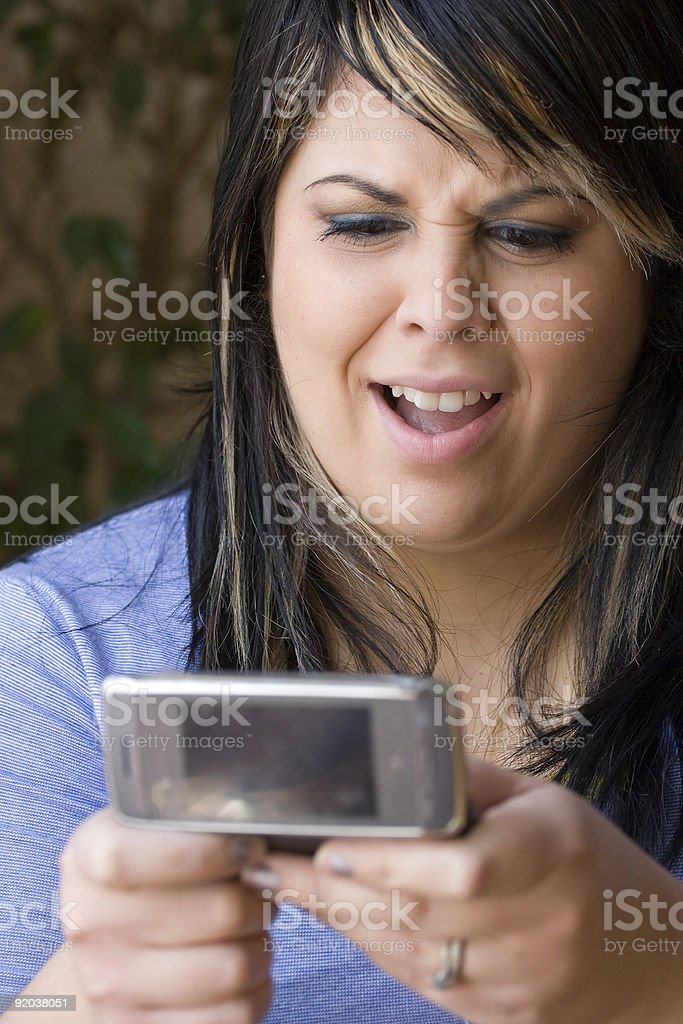 Text Messaging Gossip royalty-free stock photo