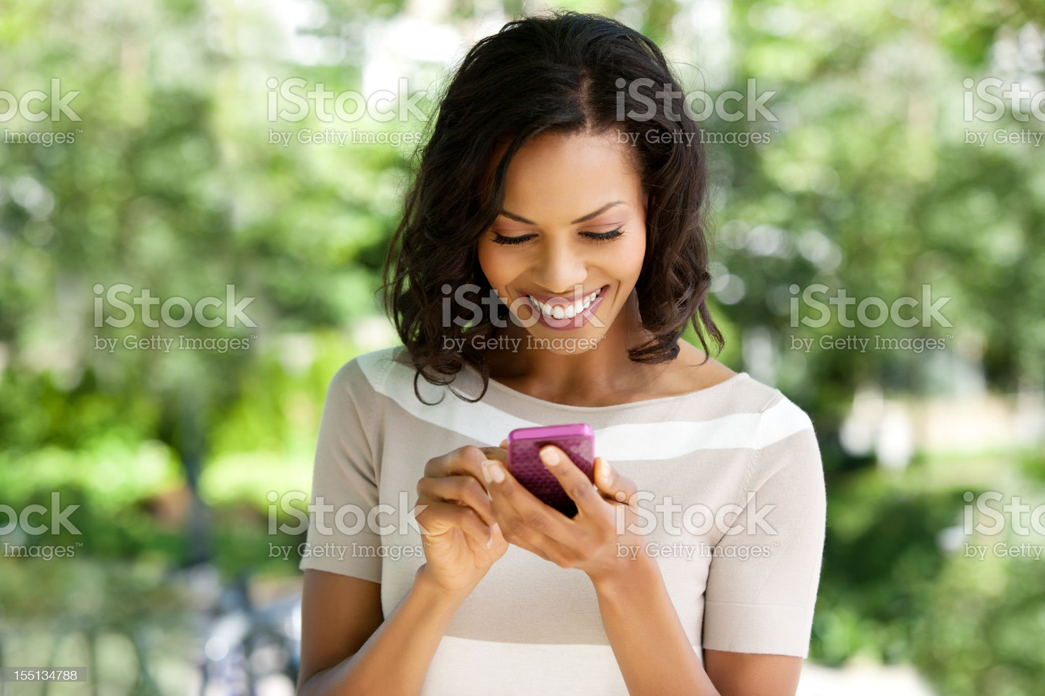 Text messaging royalty-free stock photo