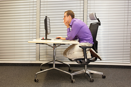Bad Posture Pictures Images And Stock Photos Istock