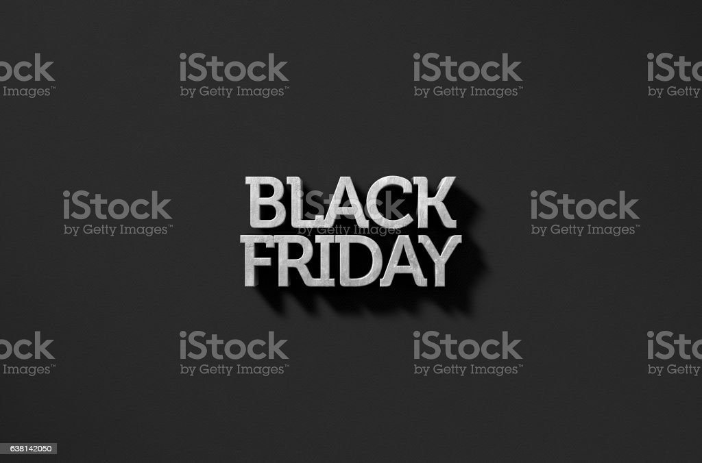 Text On Black stock photo