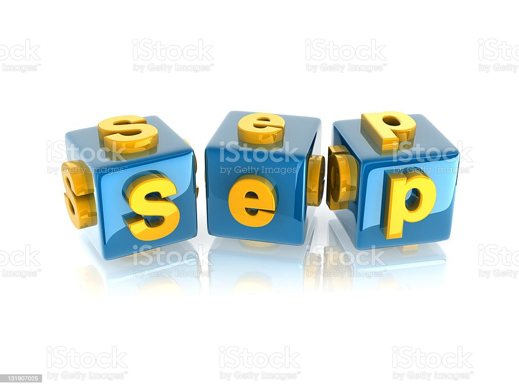 text 'September' royalty-free stock photo
