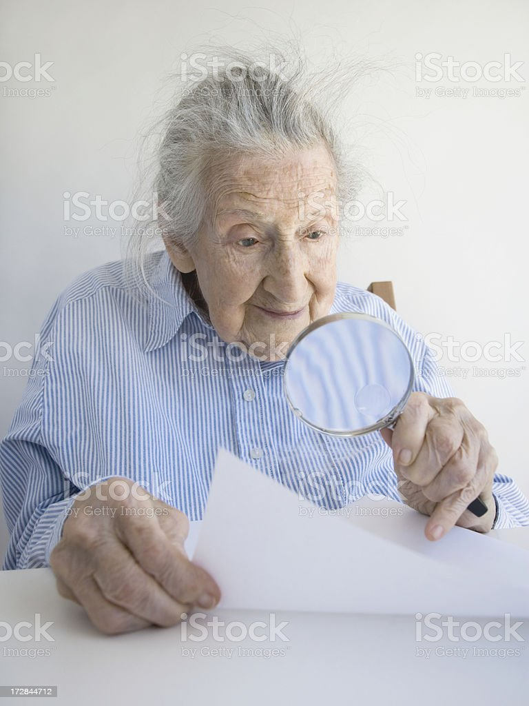 Text Too Small royalty-free stock photo