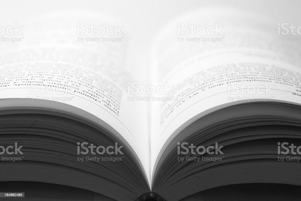 Textbook stock photo