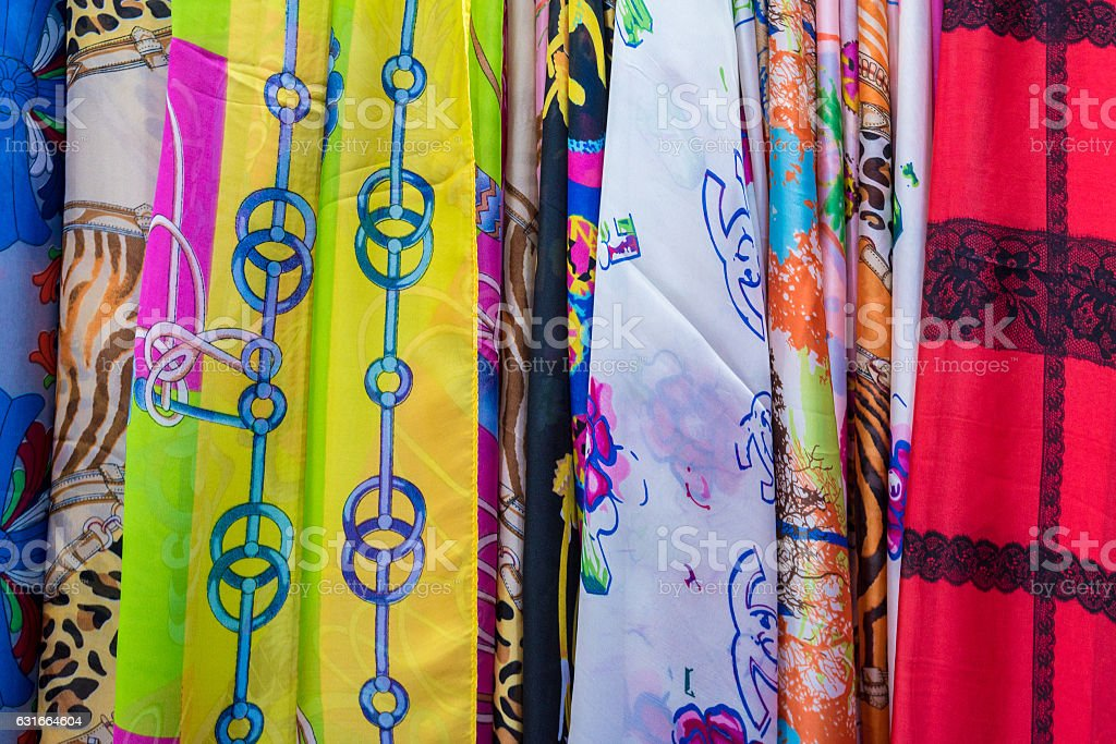 Textile and cloth stock photo