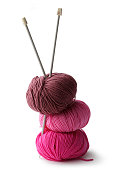 Textile: Balls of Wool and Knitting Needles