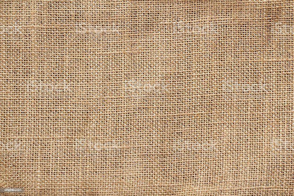 Textile burlap background stock photo