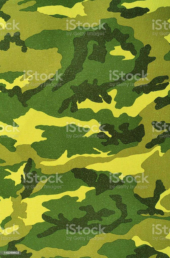 Textile camouflage pattern royalty-free stock photo