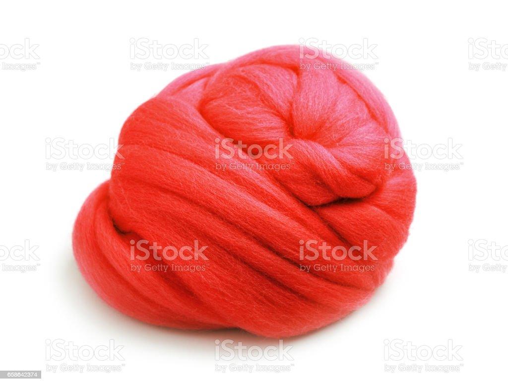 Textile fiber stock photo