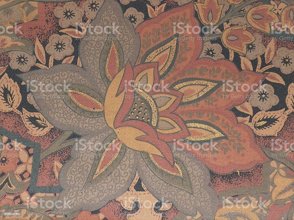 textile flower royalty-free stock photo