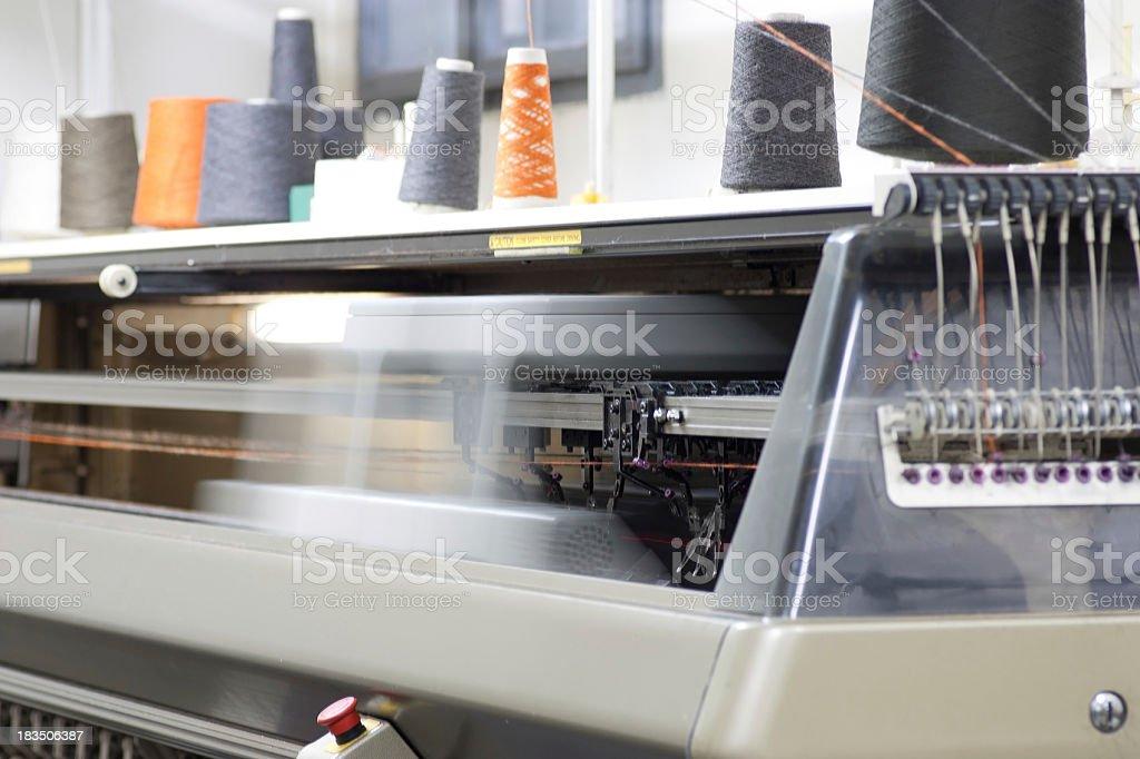 Textile Machinery royalty-free stock photo