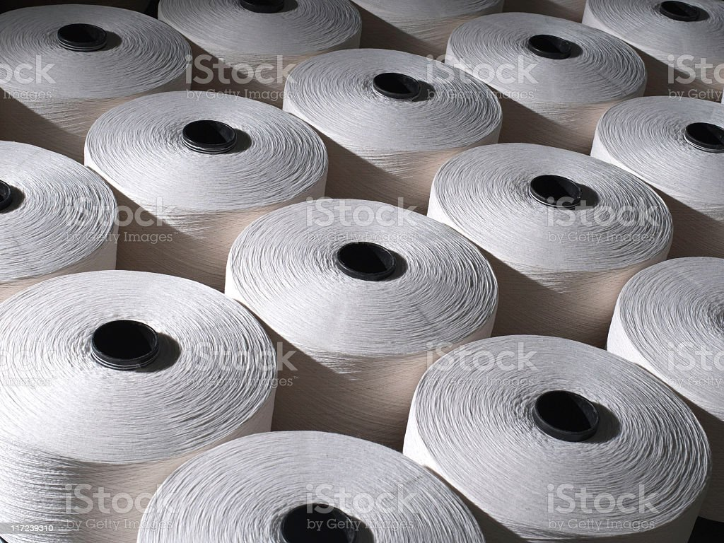 Textile Mill royalty-free stock photo