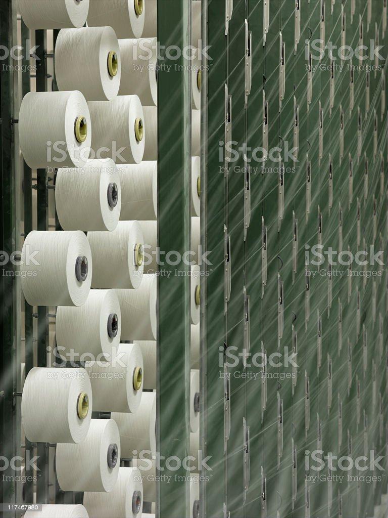 Textile Mill royalty-free stock photo