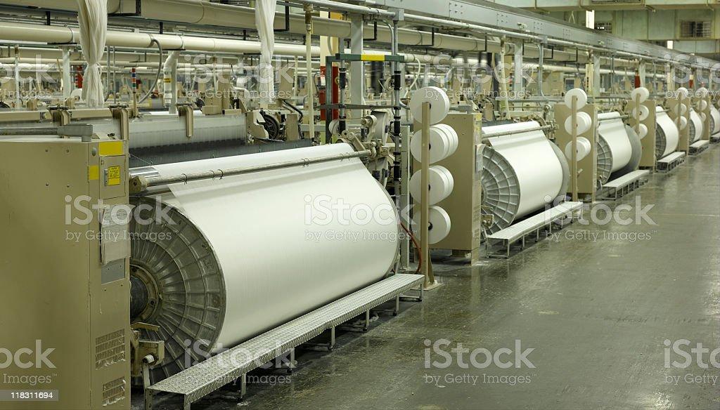 Textile Mill stock photo