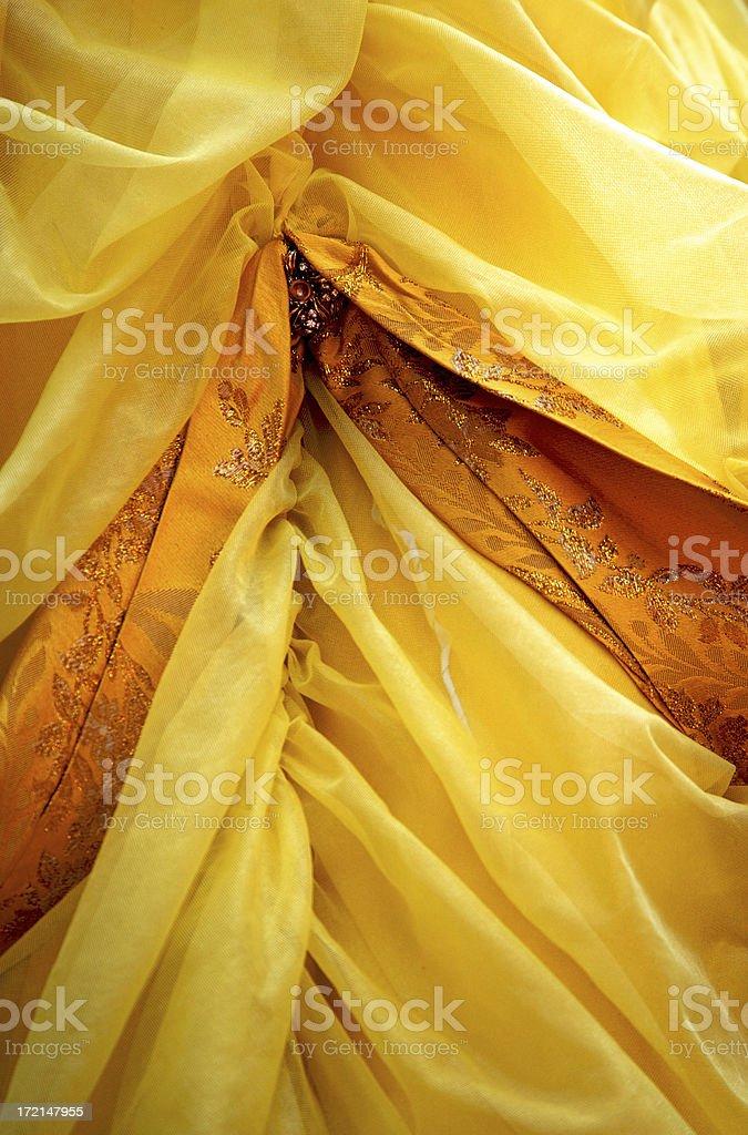 Textile of costume stock photo
