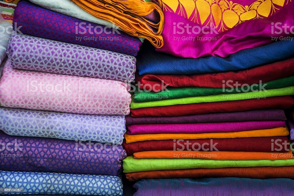 Textile on sale stock photo