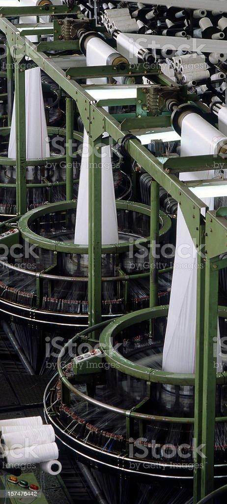 Textile Production royalty-free stock photo