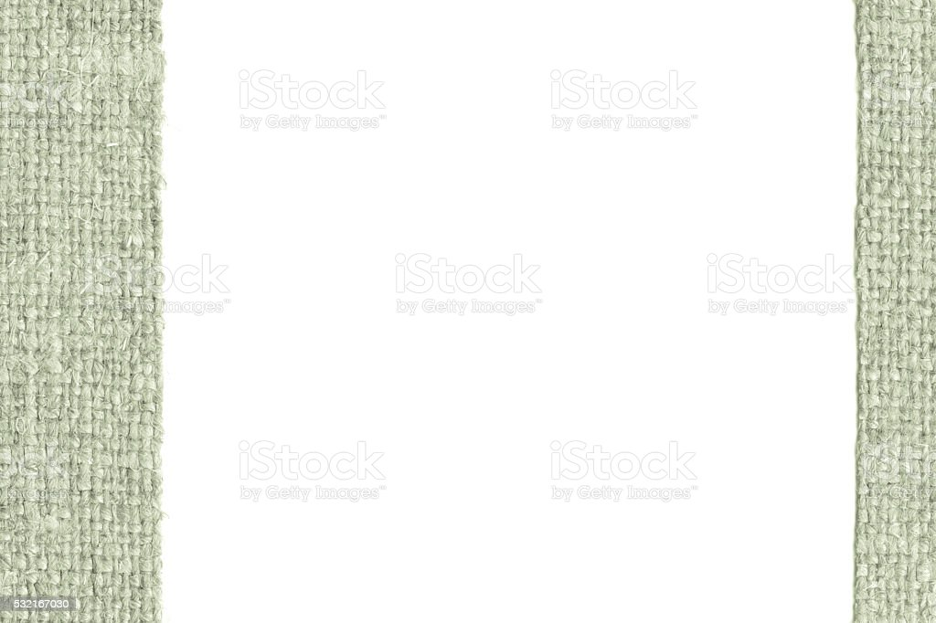Textile sack, fabric style, tea canvas, clothing material, agricultural background stock photo