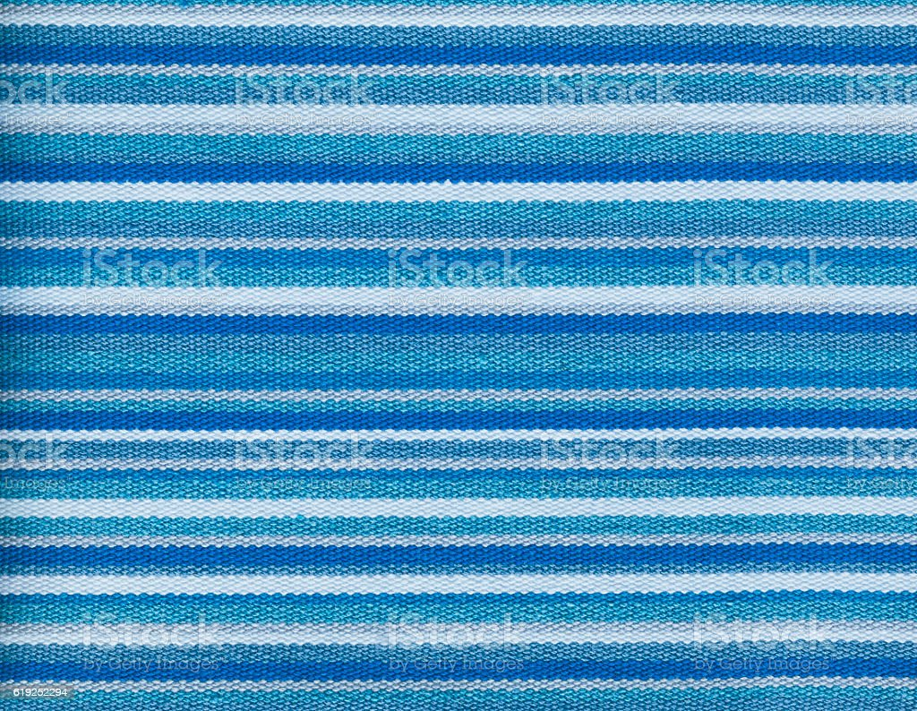 Textile texture background Blue  striped wallpaper stock photo
