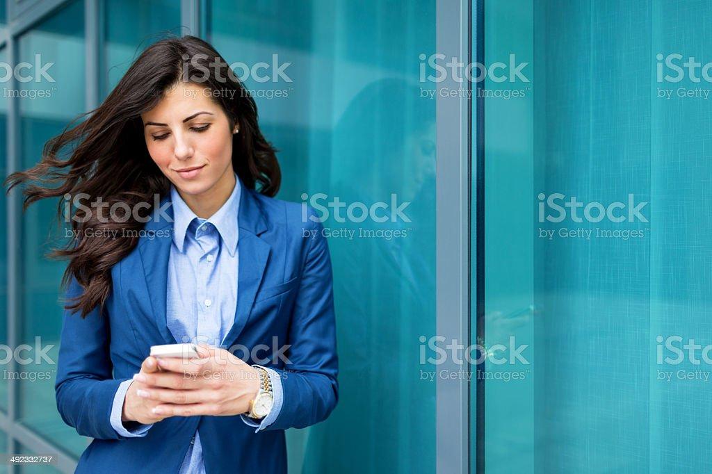 Texting royalty-free stock photo