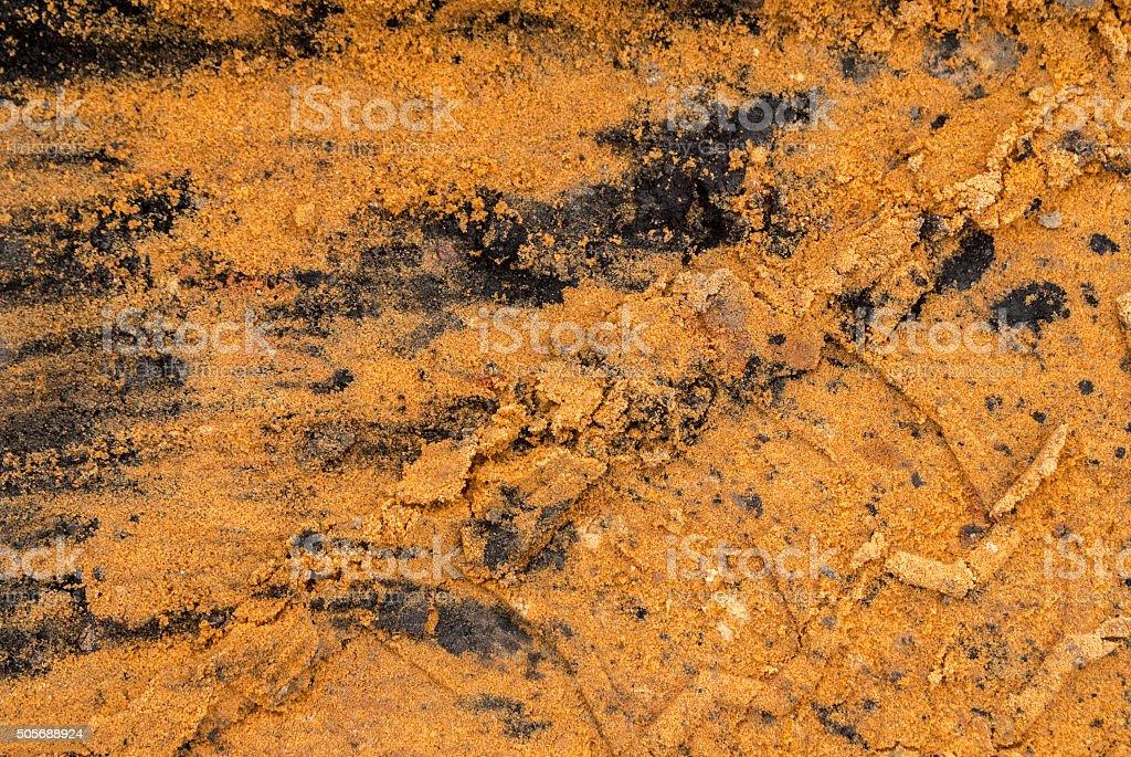 textura del suelo stock photo