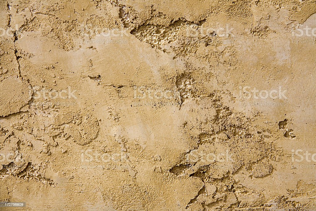 Textural Plaster Relief royalty-free stock photo