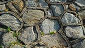 texture, background cobbles, road, street tiles
