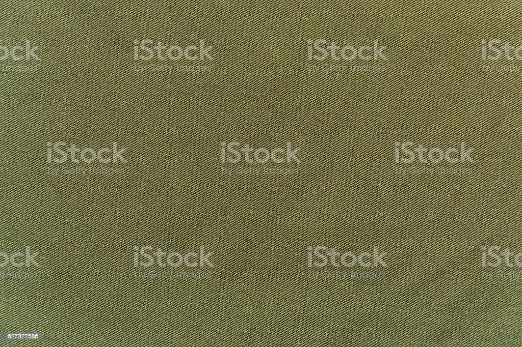 Texture, background fabric hem khaki closeup stock photo