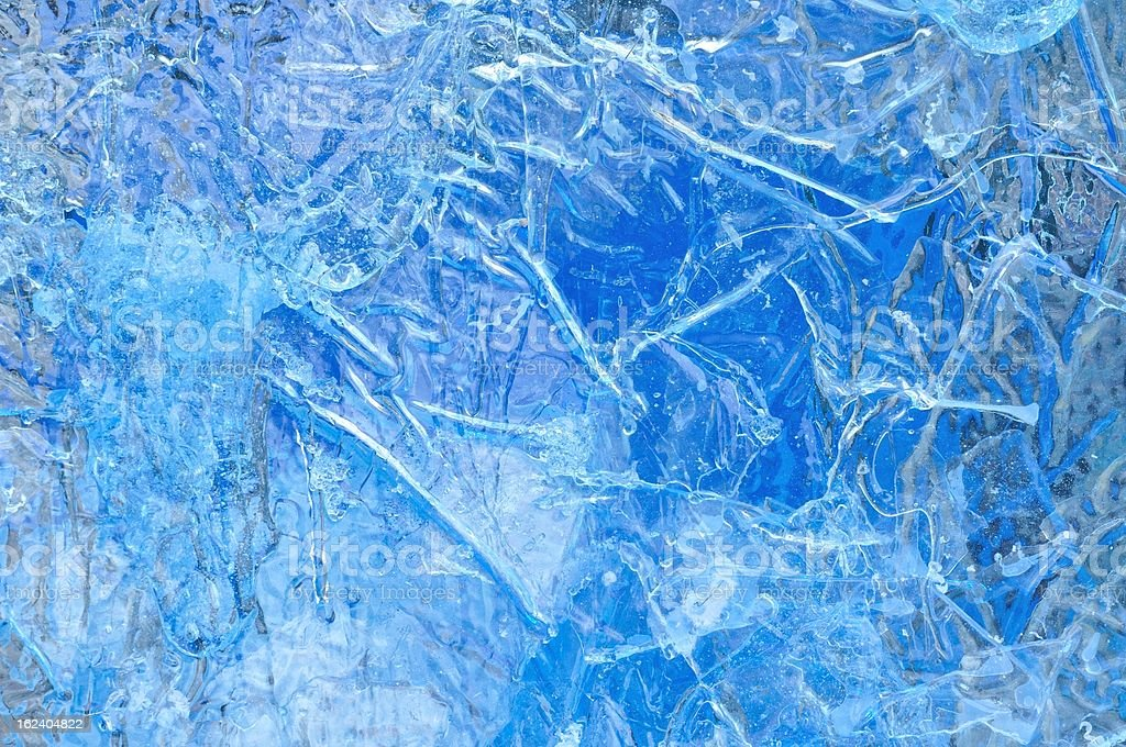 Texture Background of Artificial Iceberg royalty-free stock photo