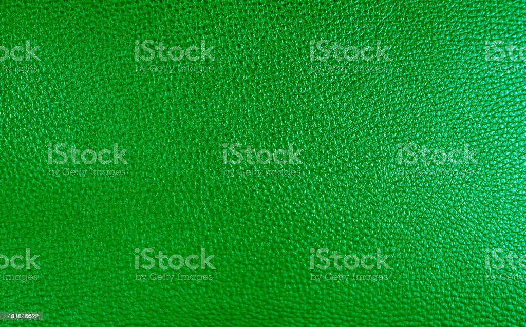 Texture background of green leather for your work vector art illustration