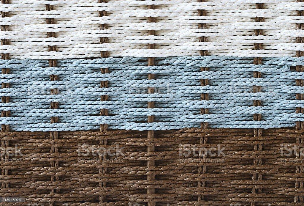 Texture basket stock photo