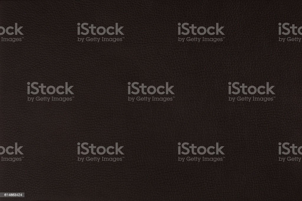 Texture black leather with stitching stock photo