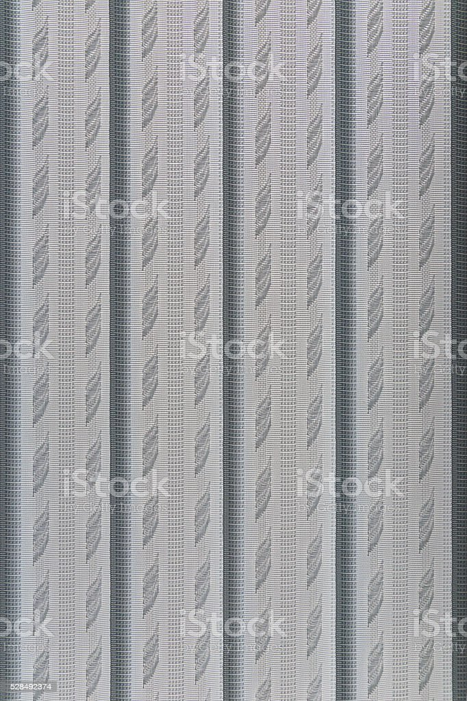 Texture blinds on the windows in the office stock photo