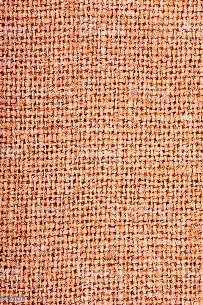 Texture canvas fabric as background stock photo