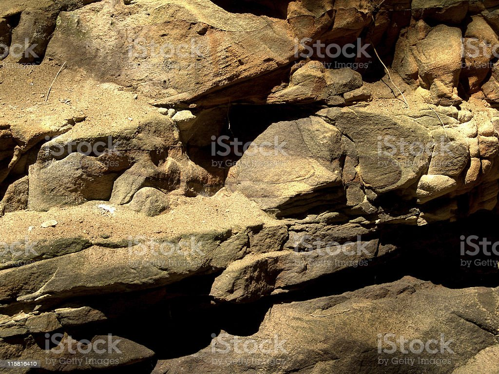 Texture, Cave Wall royalty-free stock photo