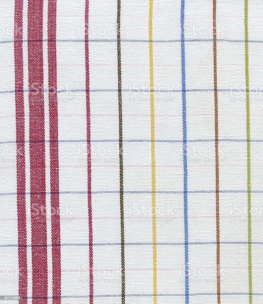 texture- checkered canvas royalty-free stock photo