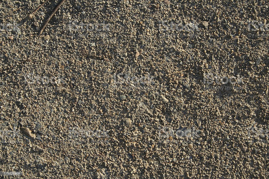Texture - Coarse Dirt stock photo
