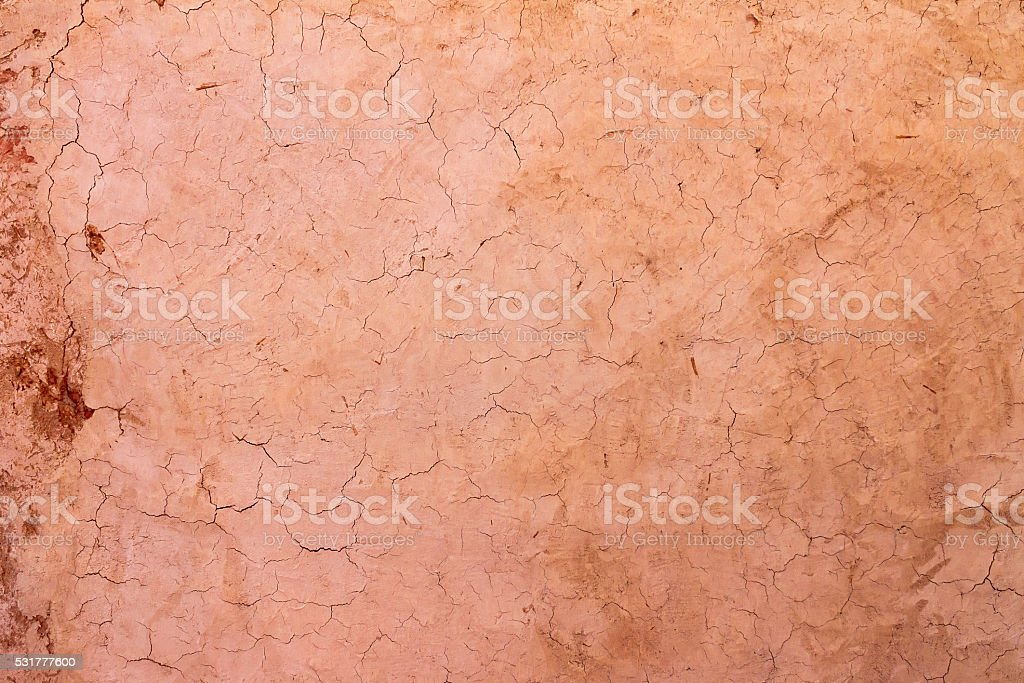 Texture cracked clay surface stock photo