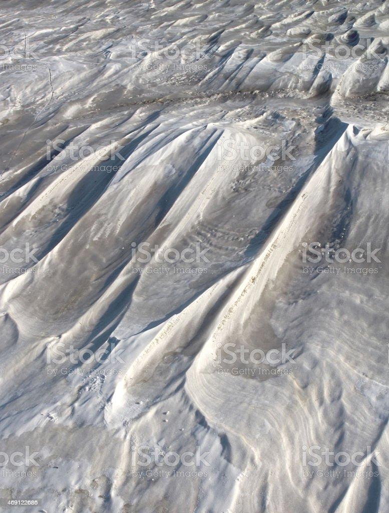 texture dirty snow stock photo