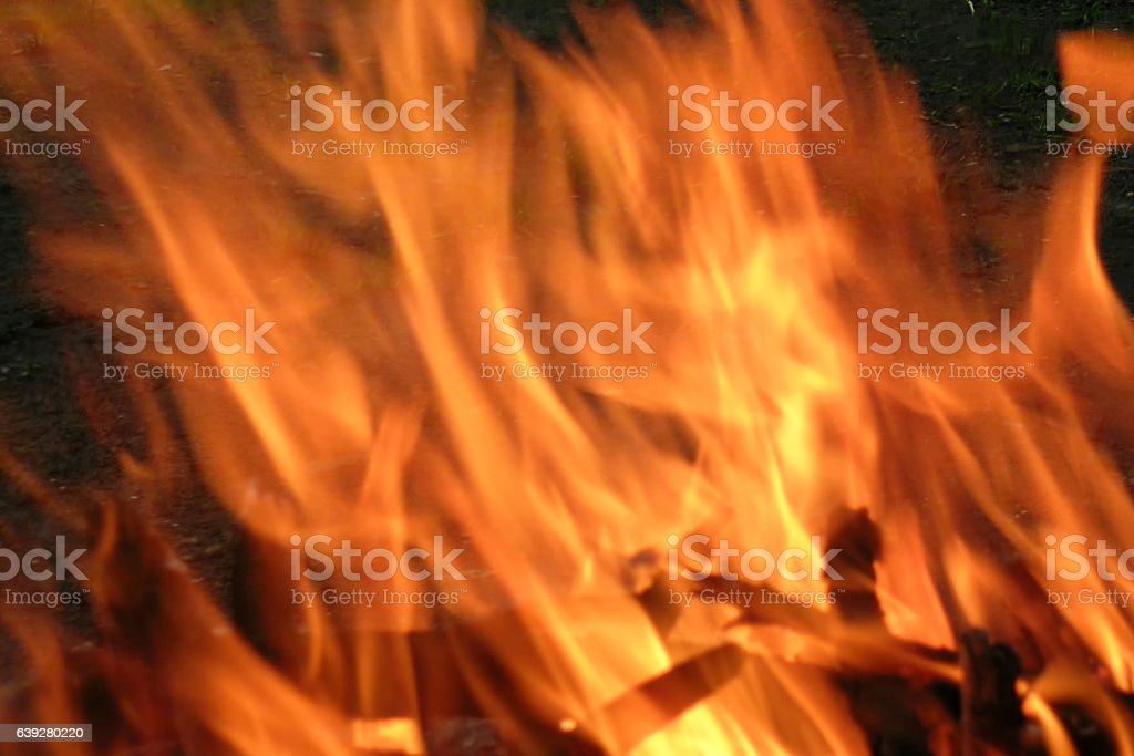 texture elements of fire flames stock photo