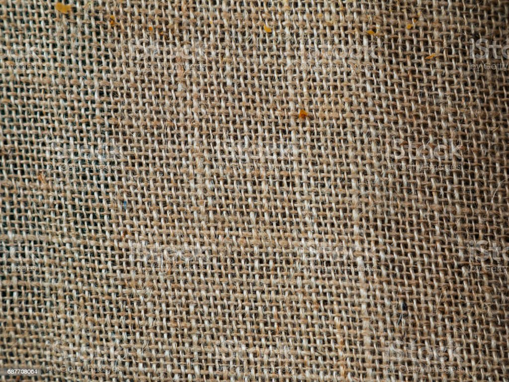 Texture from weave work by selective focus stock photo