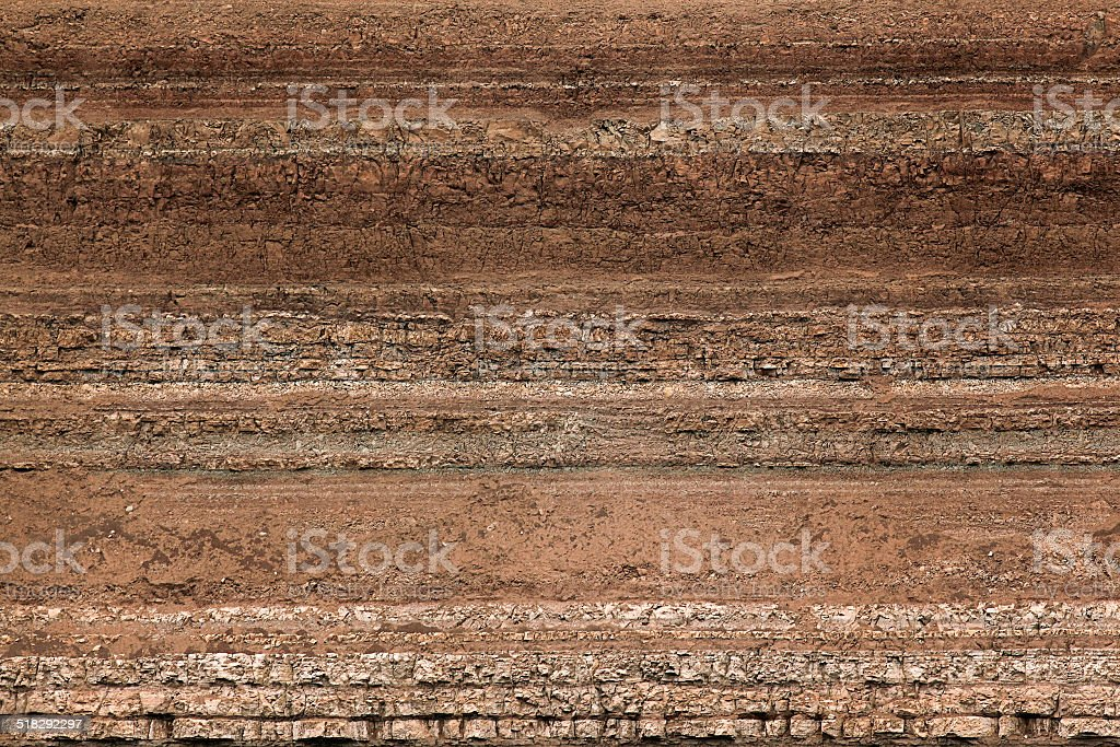 texture layers of earth stock photo