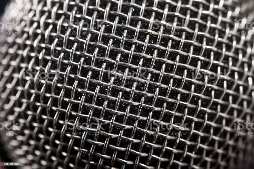 texture ,  metal knit royalty-free stock photo