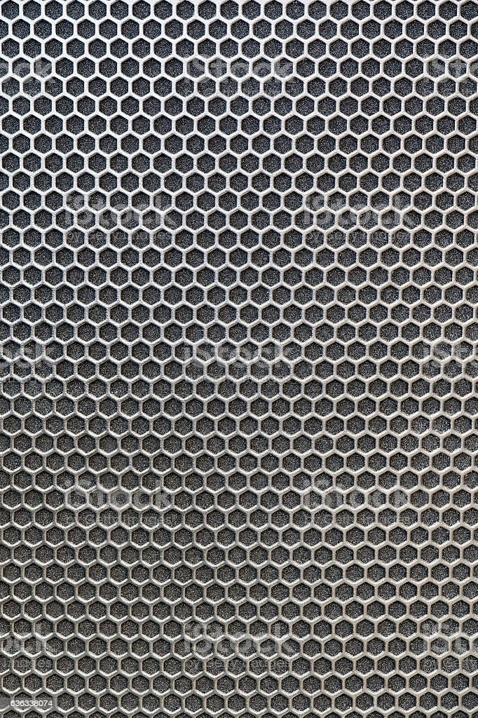 Texture metallic cells stock photo