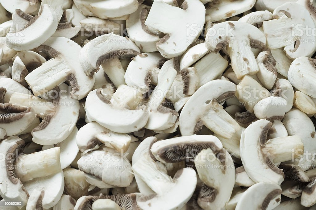Champignons texture royalty-free stock photo