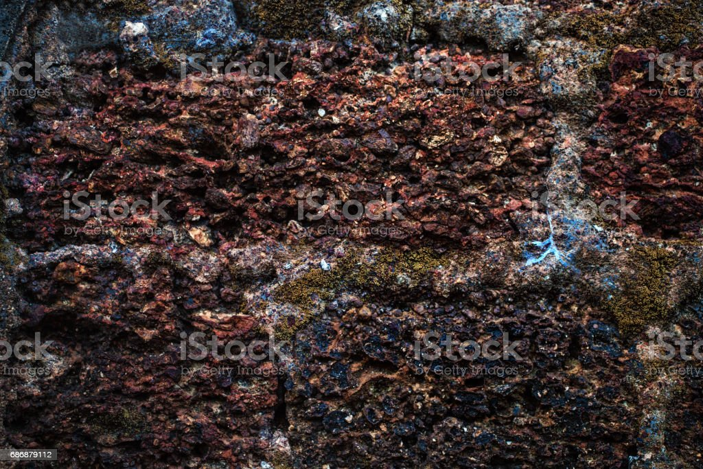 Texture of a brilliant gemstone piece stock photo