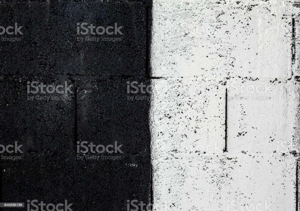 Texture of a Concrete Black And White Wall stock photo