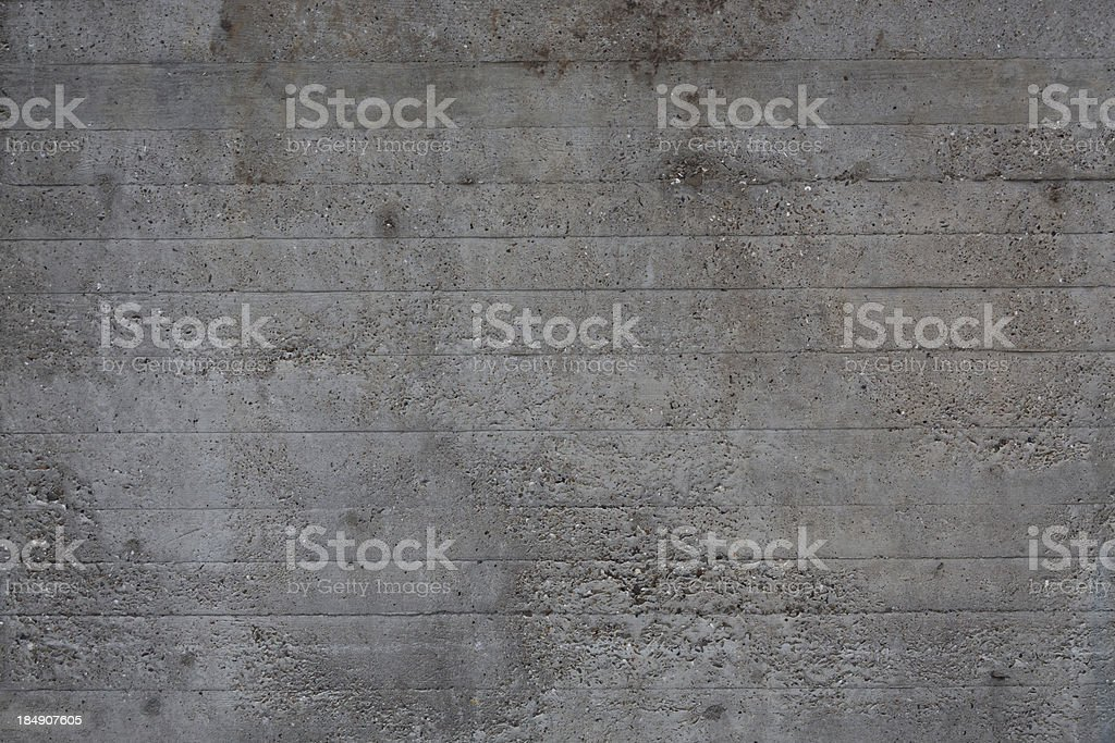 Texture of a concrete wall royalty-free stock photo